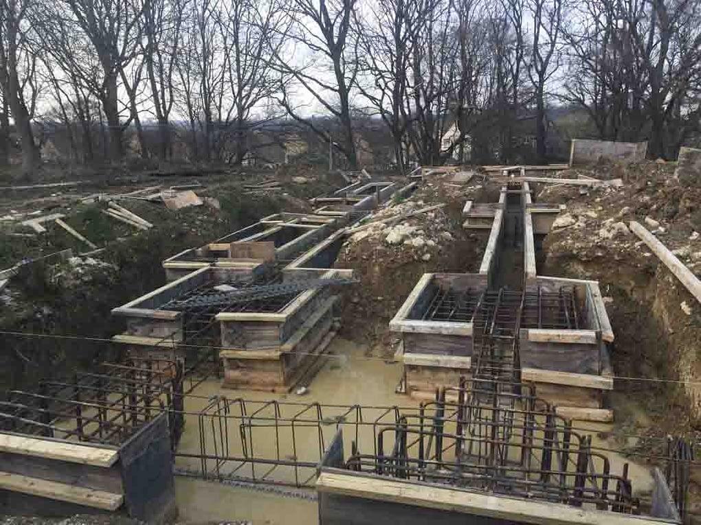 Ground beams Mudan Construction March 2017