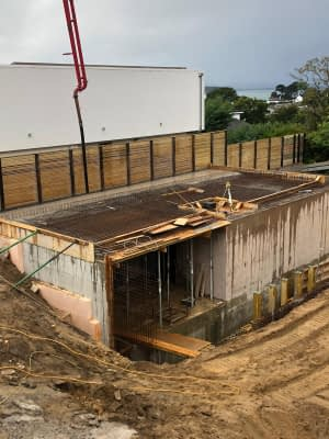 Basement construction in Poole