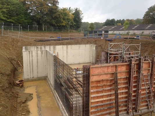 Basement Construction in Slough around 2016