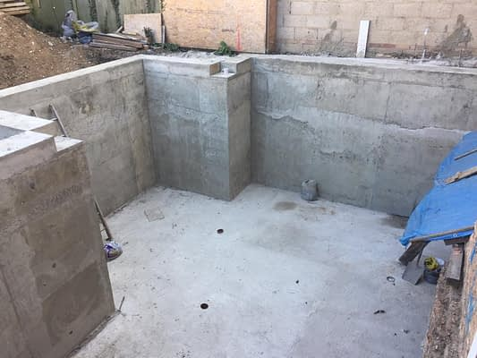 concrete Basement job in Chisick
