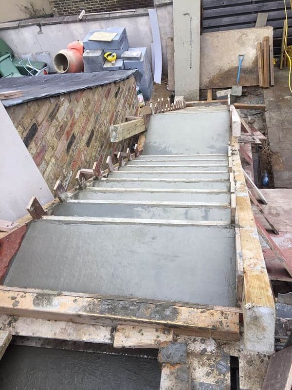 Staircase East Molesey for Brooklands Construction
