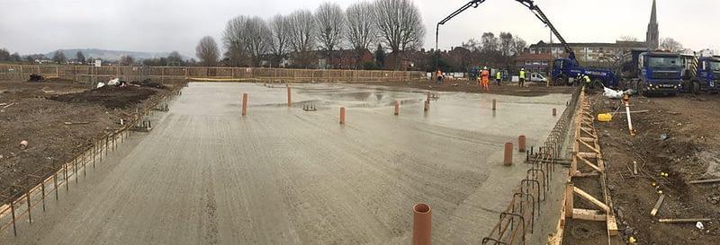 Concrete Slabs & Bases in Dorking FC